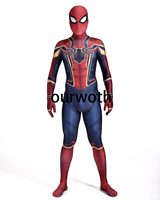 Homecoming Iron Spiderman Costume 3D Print Cosplay Comic Iron Spider Man Costume Custom Made Available