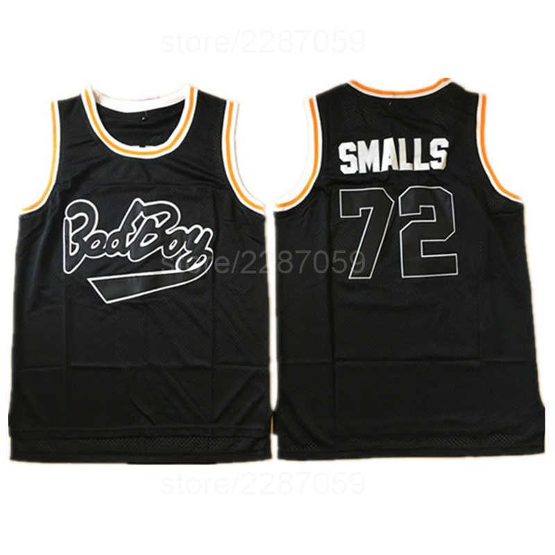 df0e764aaf0 Ediwallen Movie Basketball Jerseys Bad Boy Notorious Big 72 Biggie Smalls Jersey  Men Embroidery And Sewing