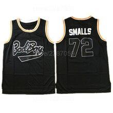 Ediwallen Movie Basketball Jerseys Bad Boy Notorious Big 72 Biggie Smalls Jersey  Men Embroidery And Sewing fbcf34f6f