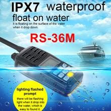 2016 NEW Float Marine Radio Walkie Talkie RS-36M 80CH IP-X7 Waterproof Intercom