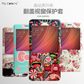 For Xiaomi Redmi Pro Case Slim Colorful Paint Flip PU Leather Stand Cover For Redmi Pro Phone Capa Funda With View Window