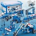 Niños Boy Toy 6901 ~ 03 Aclare BanBao Equipo de Generación de Energía Eléctrica Máquina de Bloques De Construcción Ladrillos DIY Juguetes Educativos