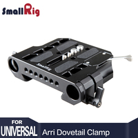 SmallRig Quick Release DSLR Camera Dovetail Clamp with 19mm Rail Clamp for Sony FS7, FS5, F55, For Canon C100 / 300 1757