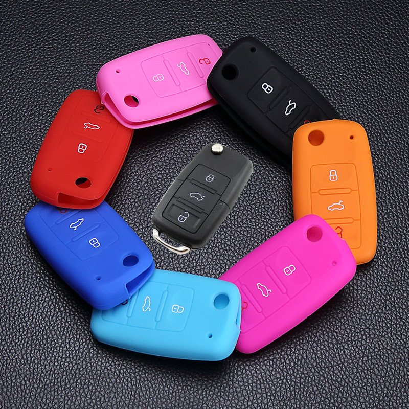 Car Accessories Key Bag Case Key Cover Key For VW Volkswagen polo passat b5 golf 4 5 6 jetta mk6 tiguan Gol CrossFox 3 buttons стоимость