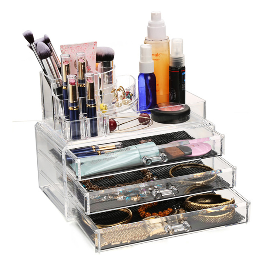 Acrylic Makeup Organizer Display Stand Cosmetic Organizer