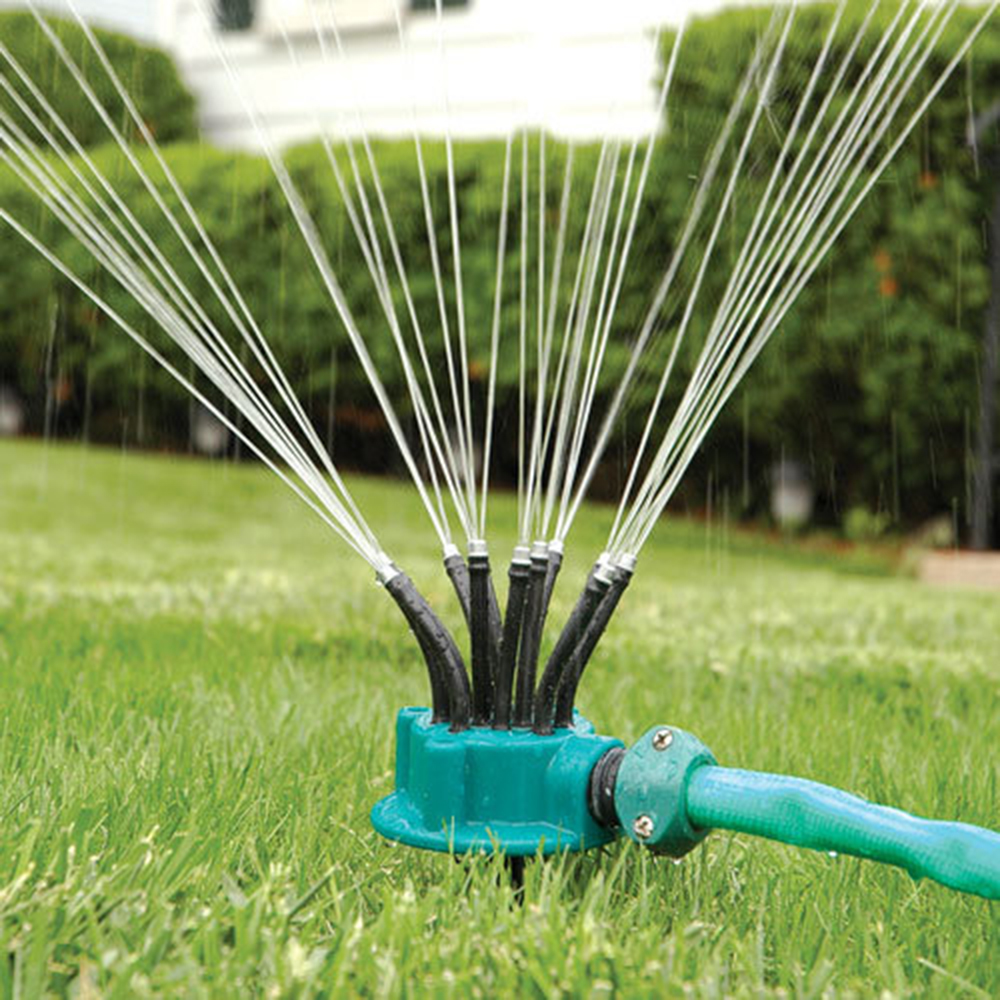 Automatic Rotating Irrigation Shower Garden Sprinklers ...