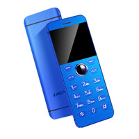 Metal Body Ulcool V16 Touch Keyboard Bluetooth 2.0 Dialer Dual Sim Credit Card Mini Mobile Cell Phone