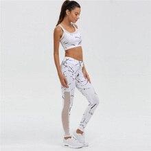 Vest Tank Top Leggings Tracksuit Clothing Fitness White Patchwork Gym Sportswear Women