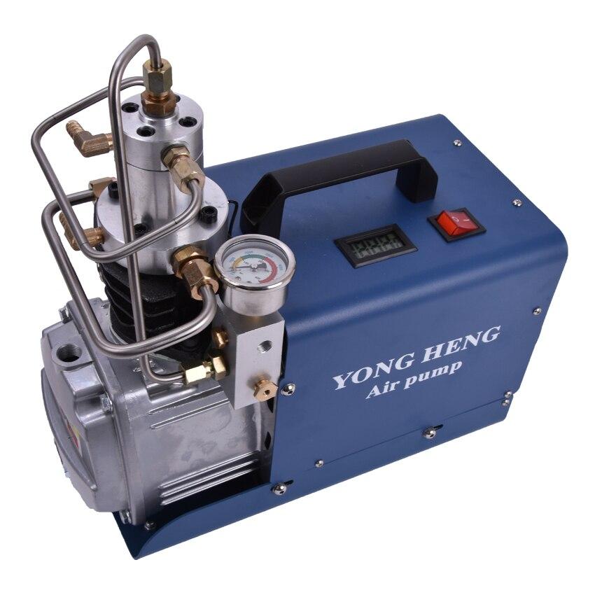 110V/220V 1.8KW 40L/min 30MPa Mini High Pressure Electric Air Pump Compressor for Pneumatic Airgun Scuba Rifle PCP Inflator