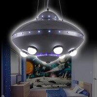 Ufo aeronaves lustre quarto lâmpadas lâmpadas lâmpadas de controle remoto colorido ufo nave espacial lustre das crianças chandelier children chandelier children roomchildren's room chandeliers -