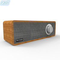 Smalody new private model portable wooden retro bluetooth speaker home mini wireless audio