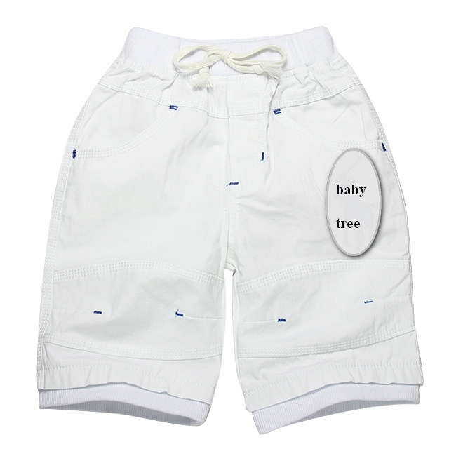2 - 8 years 100% cotton brand summer boys shorts casual short pants for baby boy bermudas kids clothes