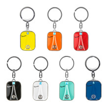 7 Colors Stainless Steel Keychain Key ring Scooter For Piaggio VESPA GTS GTV LX PX LT Sprint Primavera GTS300 150 250 Keyring(China)