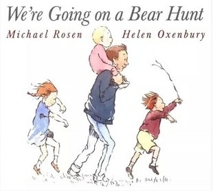 Free Shipping famous English children picture books We're Going on a Bear Hunt baby book english original children s books series organs looking through the book look inside kid original baby educational picture book