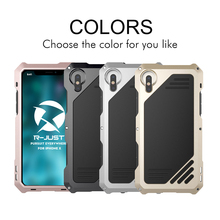 R-just phone case For iPhone X 5.8″ Waterproof Dustproof Shockproof Case Cover + Tempered Glass + Macro Camera Lens Cases