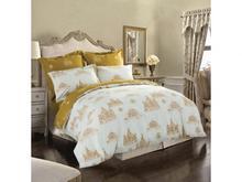 Комплект постельного белья полутораспальный СайлиД, B, узор, белый