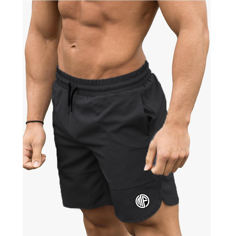 Fitness Shark Summer Jogger Shorts Men Patchwork Running Sports Workout Shorts Quick Dry Training Gym Athletic Shorts 10