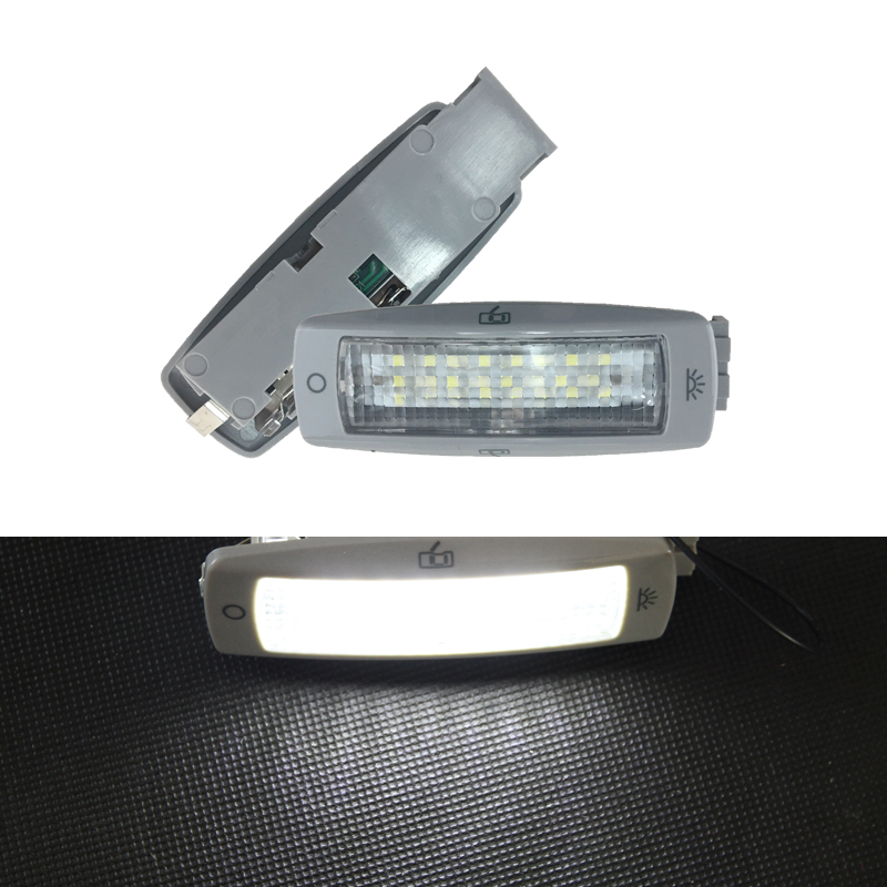 Led Rear Reading Map Dome Light Ceiling Lamp 3B0947291 B For VW Golf Passat Beetle Tiguan Caddy For <font><b>Skoda</b></font> <font><b>Fabia</b></font> Superb Seat Leon image