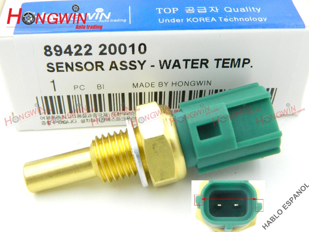 Water Temperature Sensor 89422-20010 for Toyota Camry Land Cruiser Tercel Lexus