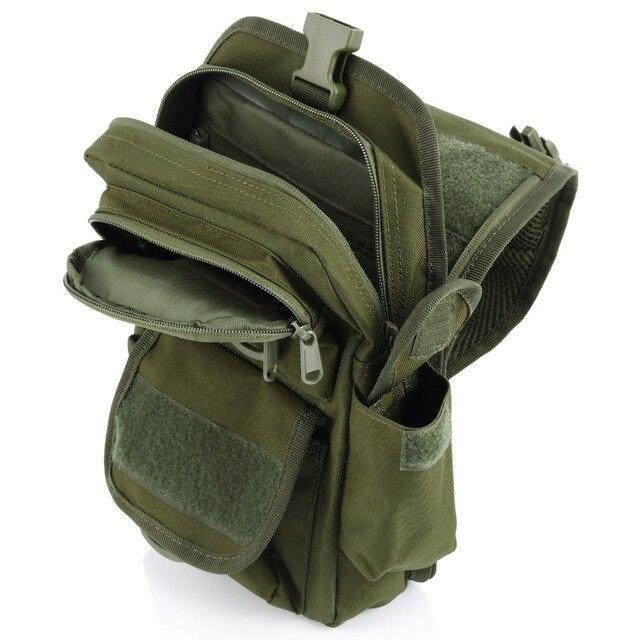 תיק כתף צבאי כולל נרתיק לאקדח 2