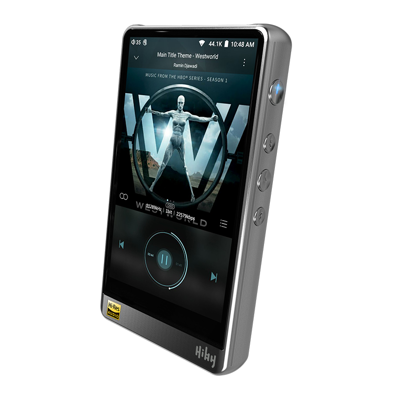 HiBy R6 High Resolution Audio Portable Player Hi Res Music Player Bluetooth MP3 Player HiFi Music