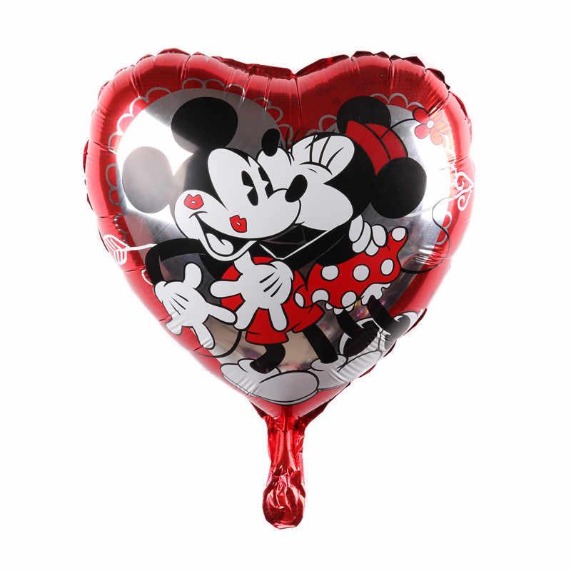 Минни и Микки воздушный шар для Бэйби Шауэр фольги воздушный шар, вечерние/День рождения/Свадебные украшения.