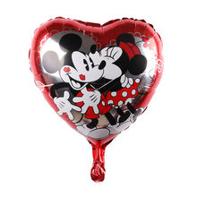 Minnie and Mickey Balloon Baby Shower Foil Balloon, Party/Birthday/Wedding Decorations.(China)