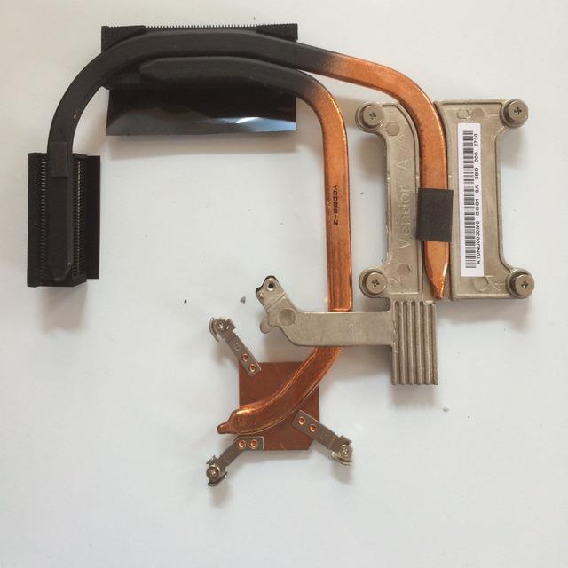 Nuevo/original del disipador de calor de refrigeración de la cpu del ordenador portátil para lenovo thinkpad e430 e435 e430c e530 series, p/n at0nu0030m0