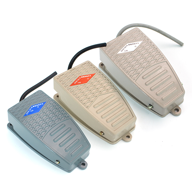 1 Pcs EKW 5A B 1 No 1 NC Nonslip Electric Power Foot Pedal ... on Sconces No Electric Power id=17195