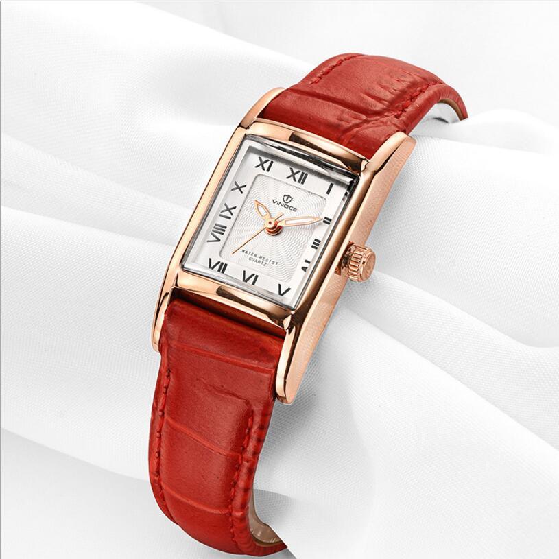 все цены на  Vinoce Fashion Quartz Watch Relogio Feminino Watches Women Dress Luxury Brand Waterproof Gold Bracelet Wristwatch montre femme  онлайн