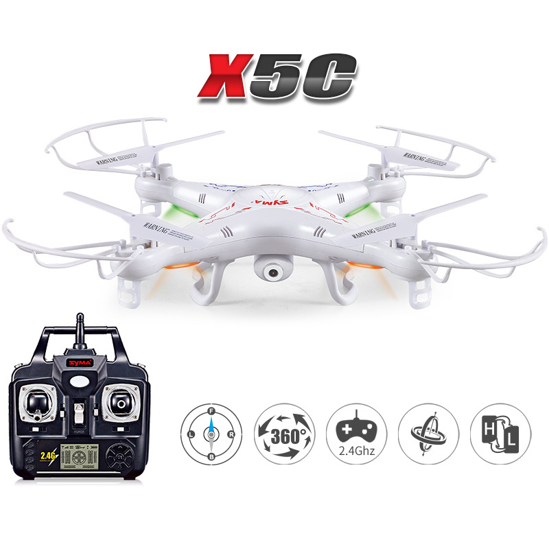 X5C 2.4GHz Upgrade Headless Auto-Return RC Drone Quadcopter Helicopter Camera original jjrc h28 4ch 6 axis gyro removable arms rtf rc quadcopter with one key return headless mode drone
