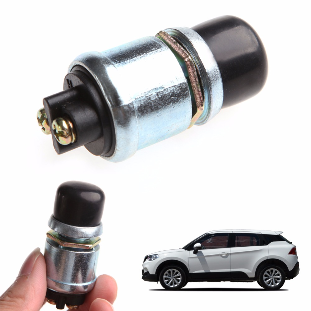 Car styling Waterproof Horn Engine Start Button Push Switch For Car Boat Bike 12V 20A Hot