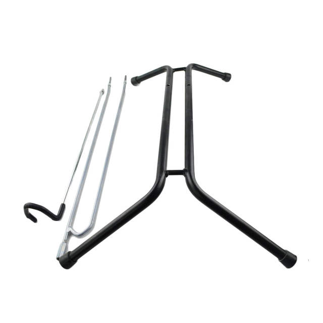 US $108 0  Bike Rack Bicycle Holder L Shape Steel Iron Bicycle Parking  Stand Bike Stand HS T021 High Quaility Save Space-in Bicycle Rack from  Sports &