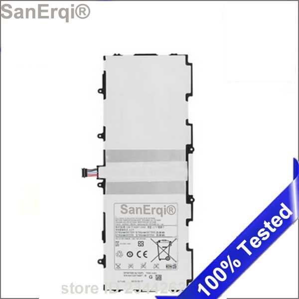 Pour Samsung N8000 Batterie Pour Galaxy Note 10.1 Tab 2 P5100 P5110 P7500 P7510 N8010 Batterie SP3676B1A (1S2P) SanErqi