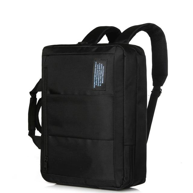 874ce9994a BRINCH 15.6 Pouce Nylon D'affaires Laptop Messenger Sac Porte-Documents Sac  À Dos