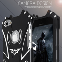 SE 5S R Just Metal Aluminum Frame Back Cover Batman Phone Cases For IPhone 5S Newest