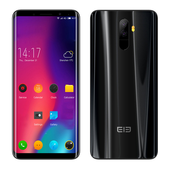 Elephone U Pro 4 г телефона 5.99 дюйма Android8.0 Qualcomm Snapdragon 660 octacore 6 ГБ ОЗУ 128 ГБ ROM 13.0MP + 13.0MP dualrear камеры