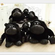 28cm large chimpanzee doll plush toy doll. KINGBOX. Creative monkey doll. Children's birthday girl(China)
