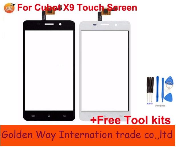 """Angcoucoux сенсорный экран 5,0 """"для Cubot X9 сенсорный экран стекло дигитайзер датчика запасные части для Cubot X9 + Бесплатные инструменты как подарок"""