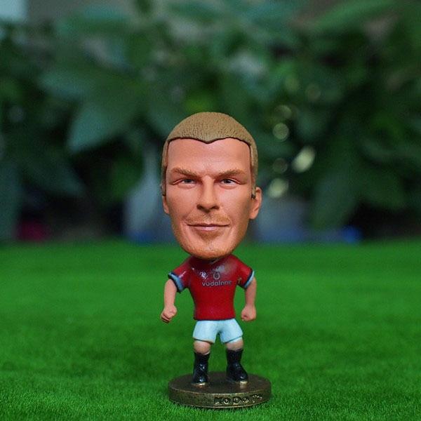 Soccer Star 7# BECKHAM (MU-Classic) 2.5 Action Dolls Figurine