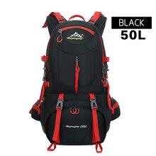 40L et 50L étanche femmes & hommes voyage à dos sur porte camp mochilas climb randonnée sac à dos bagpack sac à dos 2016