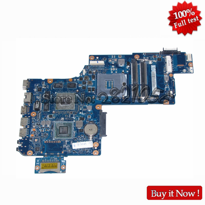 NOKOTION H000038250 For Toshiba Satellite C870 L870 17.3 screen laptop motherboard HD4000 DDR3 warranty 60 daysNOKOTION H000038250 For Toshiba Satellite C870 L870 17.3 screen laptop motherboard HD4000 DDR3 warranty 60 days