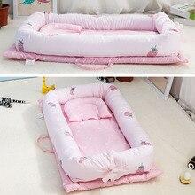 90*55*15cm High Quality Baby Bed Portable Foldable Crib Newborn Sleep Travel For baby