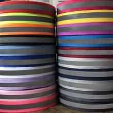 Светоотражающая полиэфирная лента, Яркая Цветная Светоотражающая тесьма для шитья, 45 ярдов, 1 см