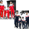 Fashion Family sport clothing set Mom and daughter me Dad Son mother matching clothes autumn spring Mommy Father outfits suits