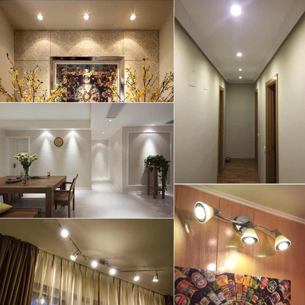 LED Spotlight Bulb Aluminum Dimmable GU10 GU5.3 COB AC 85V- 265V 110V 220V 3W 5W 7W MR16 12V AC/DC 12V Bombillas LED Spot light