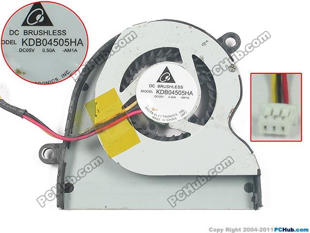 Delta KDB04505HA AM1A DC 12V 0.12A Server Laptop Fan