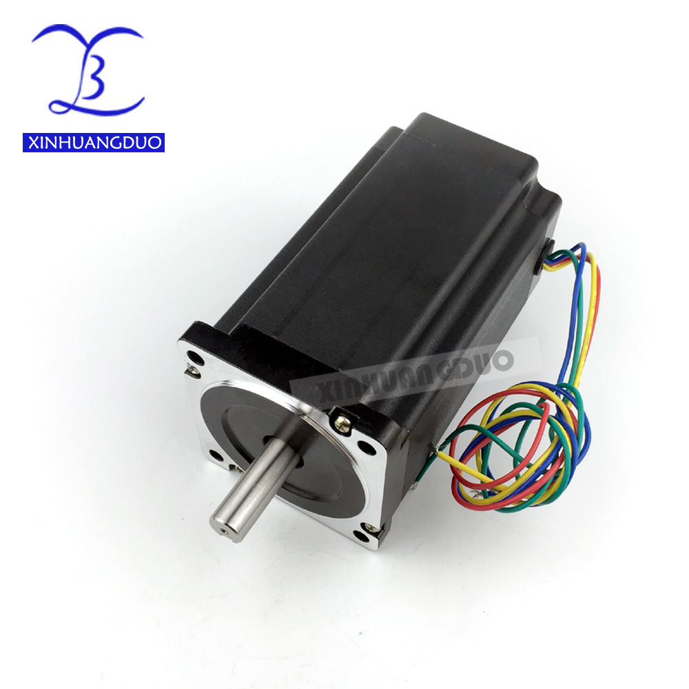 NEMA 34 CNC 86 stepper motor 155mm 12 N.m 6A Diameter 14mm Nema34 stepping motor 1700Oz-in for CNC engraving machine high torqueNEMA 34 CNC 86 stepper motor 155mm 12 N.m 6A Diameter 14mm Nema34 stepping motor 1700Oz-in for CNC engraving machine high torque