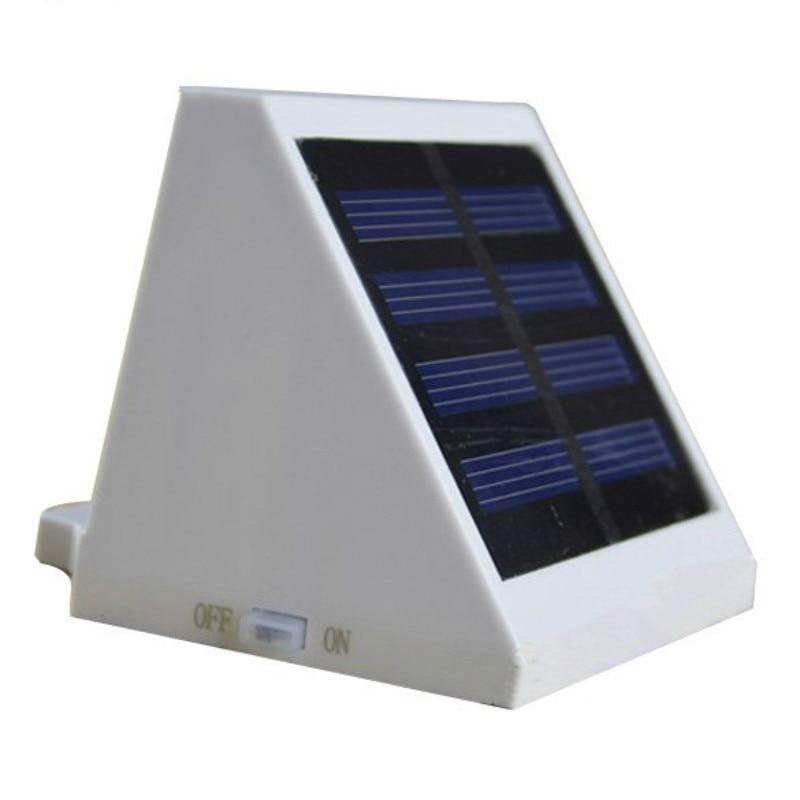 Fence mega store24 4 led solar powered fontbfenceb workwithnaturefo