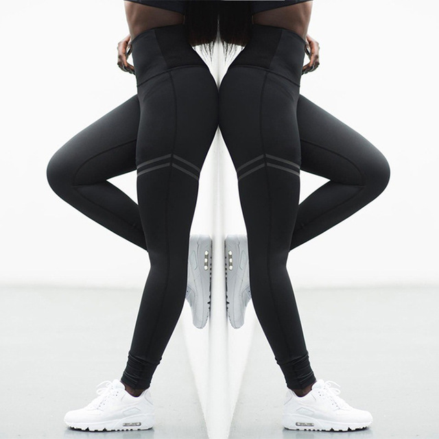Stretchy Athletic Sport Leggings Running Pants For  Women